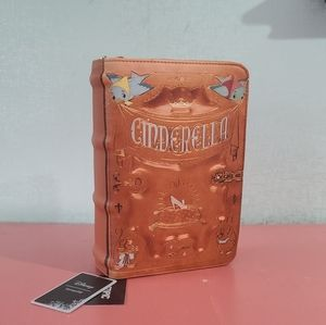 NWT Disney x Loungefly Cinderella Book Crossbody